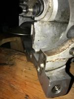 oil sump drainage hole