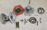 Disassembled square top fuel pump