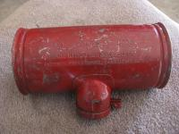 Red Painted.....T/Coffee Can.....Air Filter/Cleaner