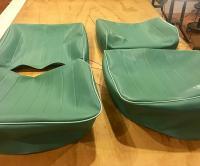 Matt Miller Como green seat covers