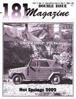 181/182 - VW Thing Archive - New items added