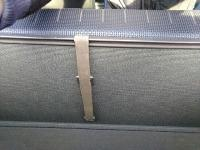 rear seat tie-down strap