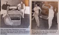 Fiberglass VW Sedan body