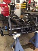 chassis with new airkewld beam.