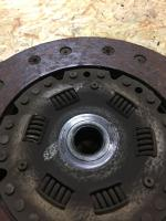 Flywheel and clutch
