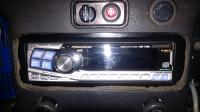Stereo dash pad trim