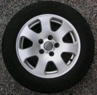 Audi A4 7 spoke wheel