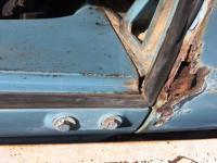 Rear corner rust