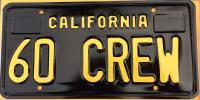 Crew Cab License Plate