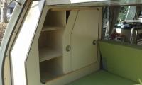 Cabinet sliding doors
