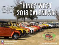 Calendar of the official VW Thing Registry's, Things West event 2017