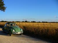 1960 ragtop countryside cruise