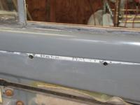 Standard Oval '56 paint stripping