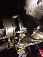 drive end cover leak