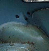 seat rest detail