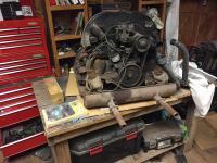 Ghia motor removal