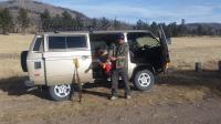 November Elk Hunt on the Valles Caldera, New Mexico