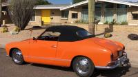 "'68 Karmann Ghia convertible, ""Wyatt"""