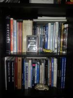 My automotive bookshelves.
