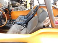 Race Trim Seats in a buggy