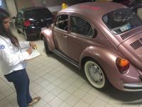My Sedan at VW dealership service