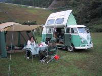 VW Campmobile Club of Japan Campout - Oct. 2001