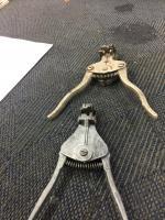 Wire stripper pliers