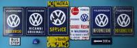 Rare original enamel VW dealer signs.