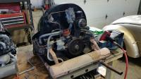 1953 Std Engine on bench
