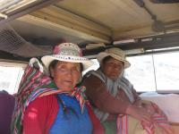 Peruvian Women Hitchhikers