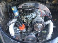 1600cc DP engine,  chrome tin