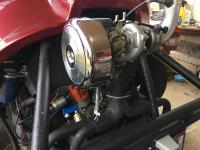 Because turbo! Harley carb