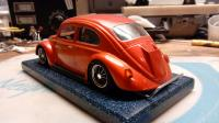 Model kit to slot car conversion work in progress