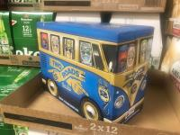 Bus themed beer