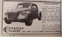 Creative Car Craft MB Hood