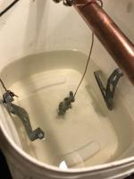 Fender bolt zinc plating