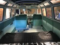 VW turkis making interior panels