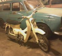 My Squareback & 1965 Honda Super Cub
