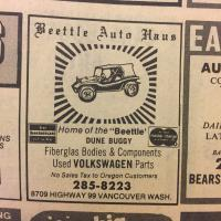 Phonebook Advertisements from 1970-1973
