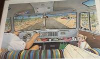 Bus interior painting