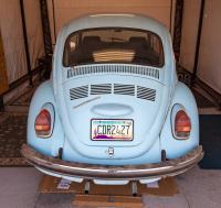 Back of 1972 Super Beetle