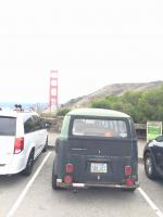 Golden Gate Bridge and Cragar Kombi