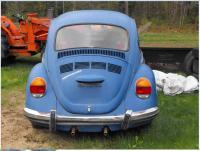 1974 Super Beetle in 2012