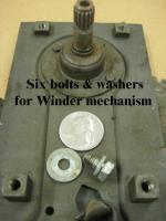 '58 & '59 Ghia Door Glass Mechanisms