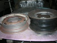 PT Cruiser hoops for the 65-67 Bug centers