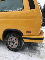 Vanagon tire chains