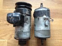 1946 (?) vs. 1950 generator