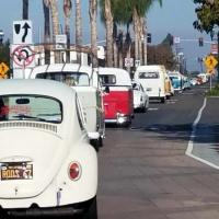 New Year's VW Cruise San Diego