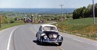 Upstate NY in '62 Beetle