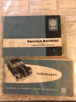 Items Found In the Glove Box Of My 61 Beetle